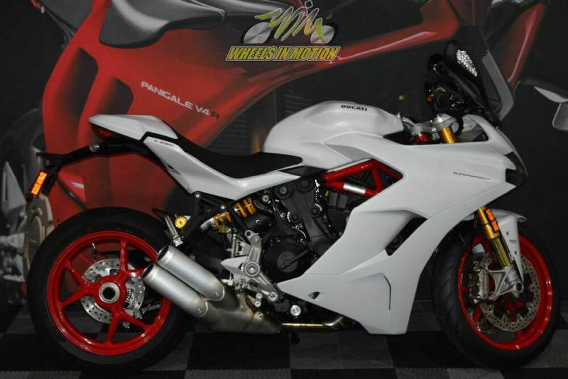 2020 Ducati SuperSport S Star White Silk White used for sale