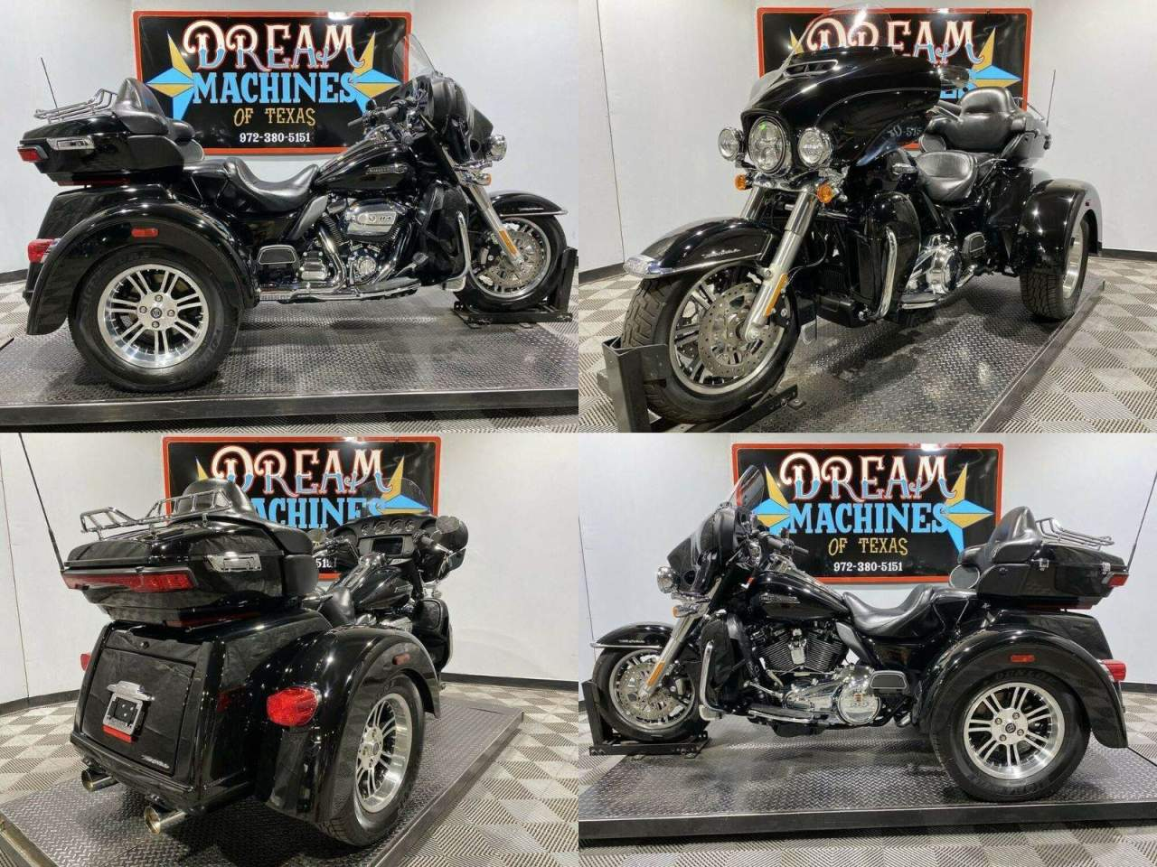 2020 Harley-Davidson FLHTCUTG - Tri Glide Ultra Classic Trike Black used for sale near me
