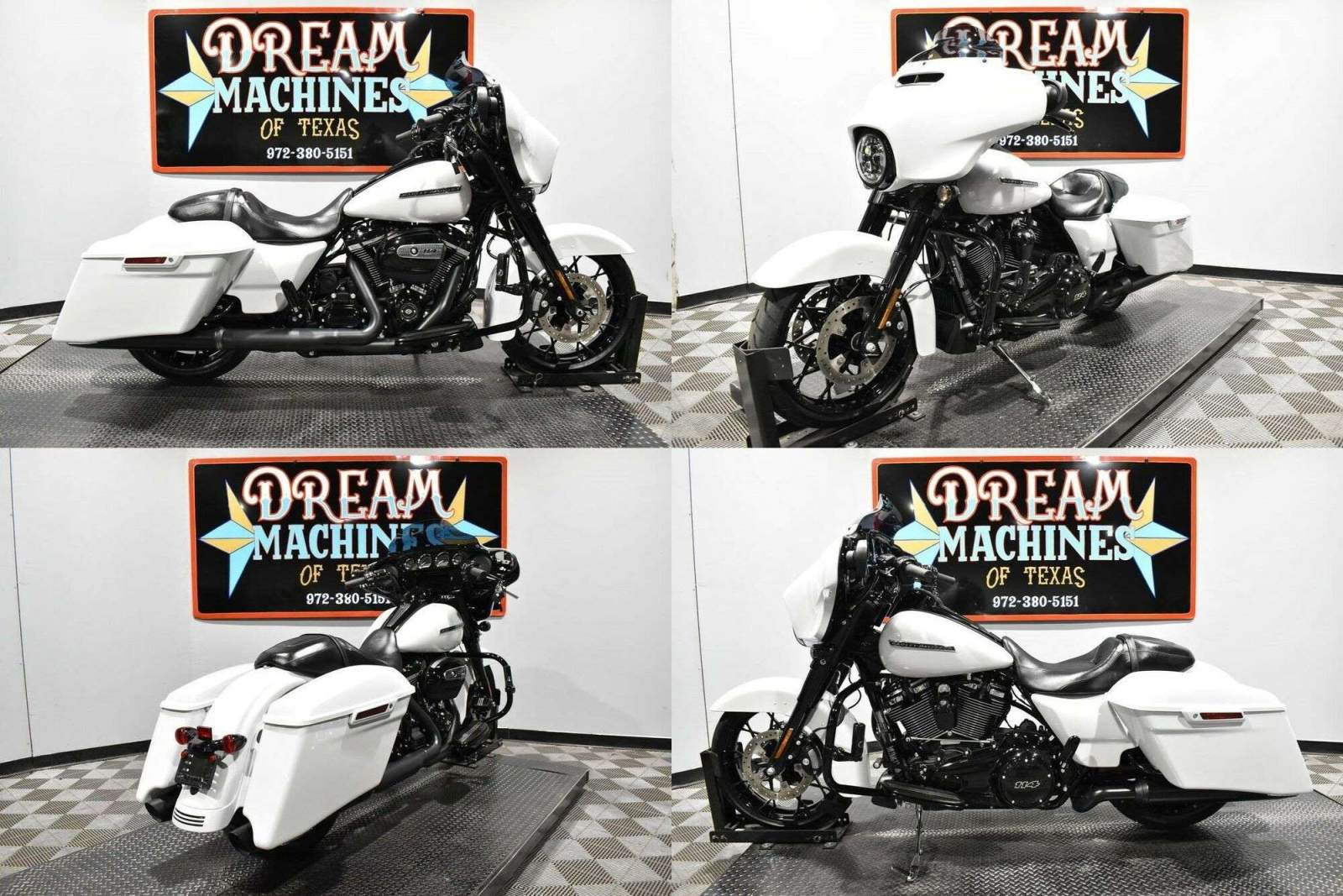 2020 Harley-Davidson FLHXS - Street Glide Special White used for sale