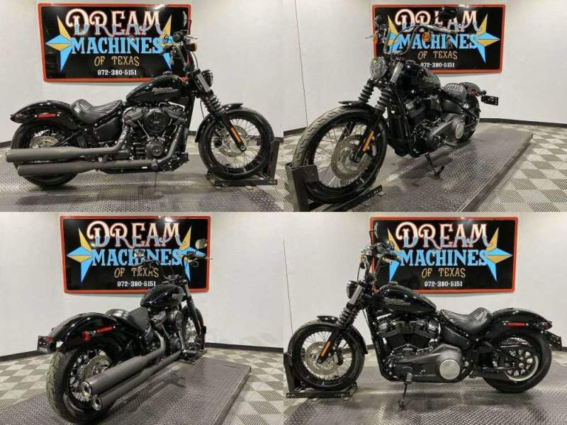 2020 Harley-Davidson FXBB - Softail Street Bob Black used for sale near me