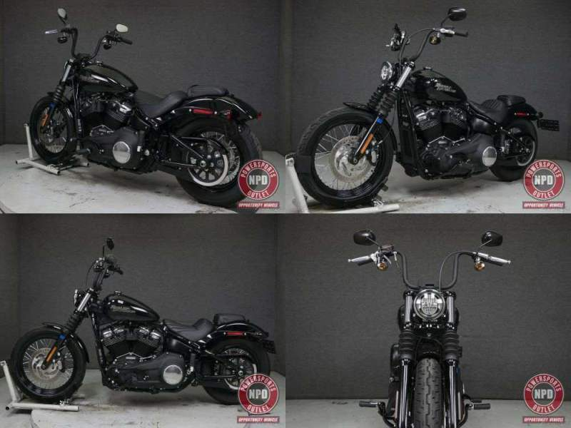 2020 Harley-Davidson Softail FXBB STREET BOB VIVID BLACK used for sale near me