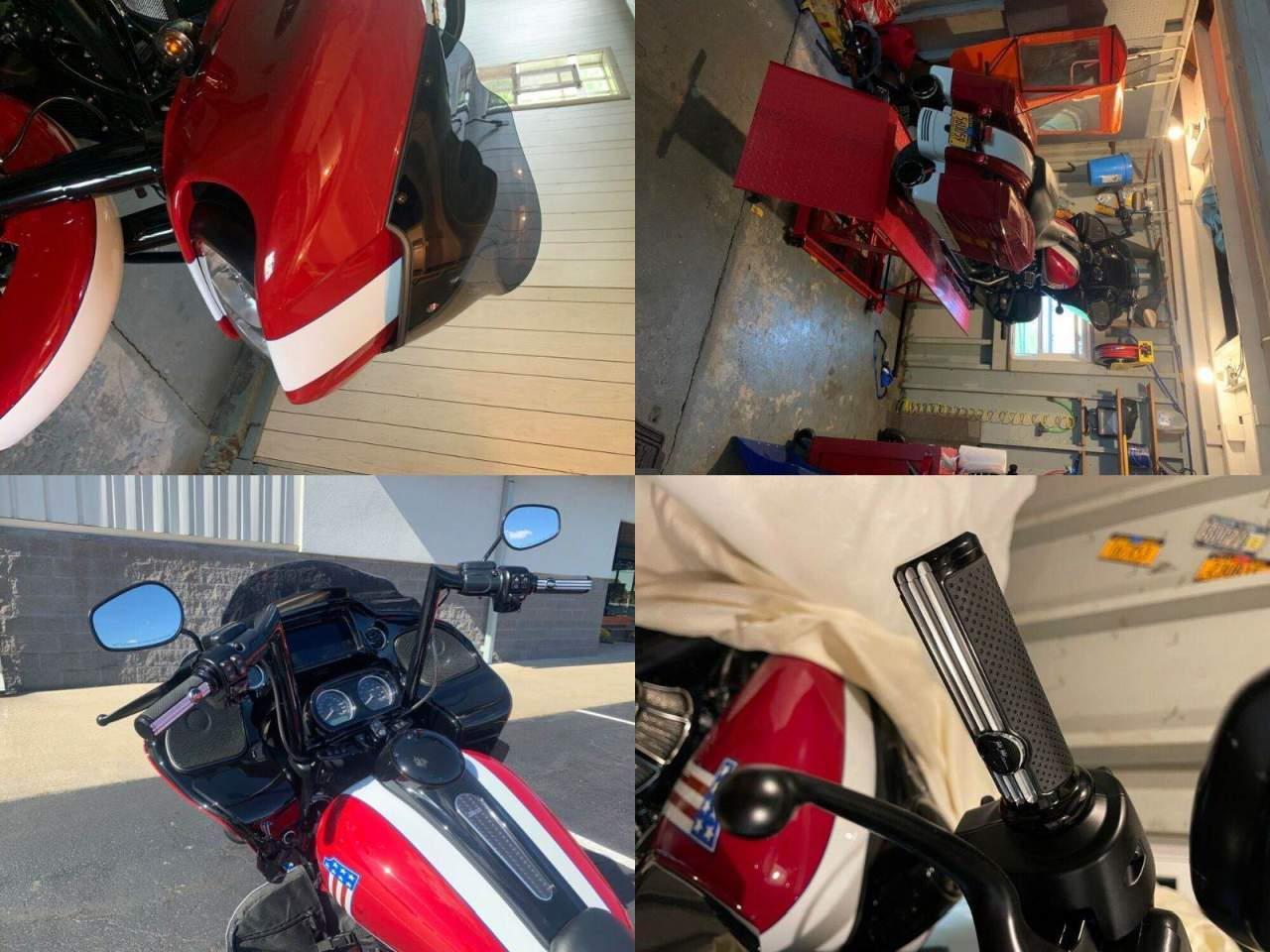 2020 Harley-Davidson Touring Red used for sale near me