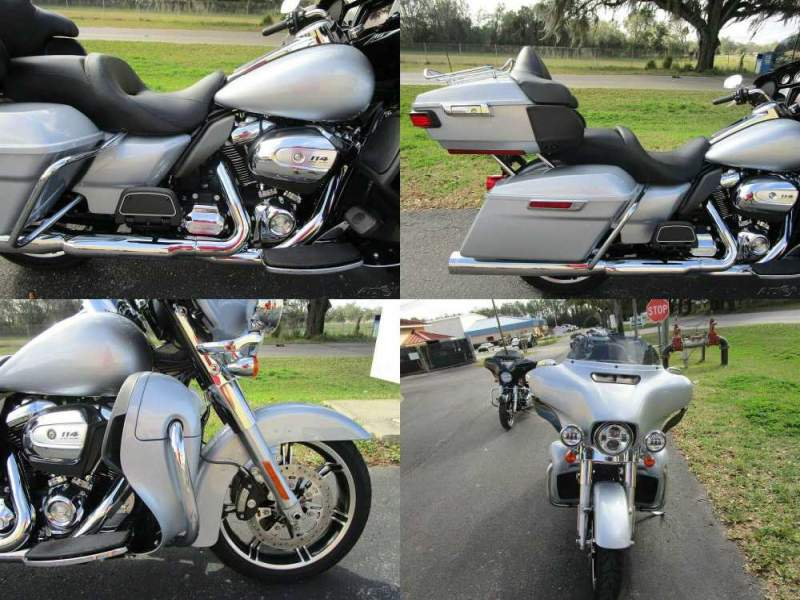 2020 Harley-Davidson Touring Electra Glide® Ultra Limited Silver used for sale