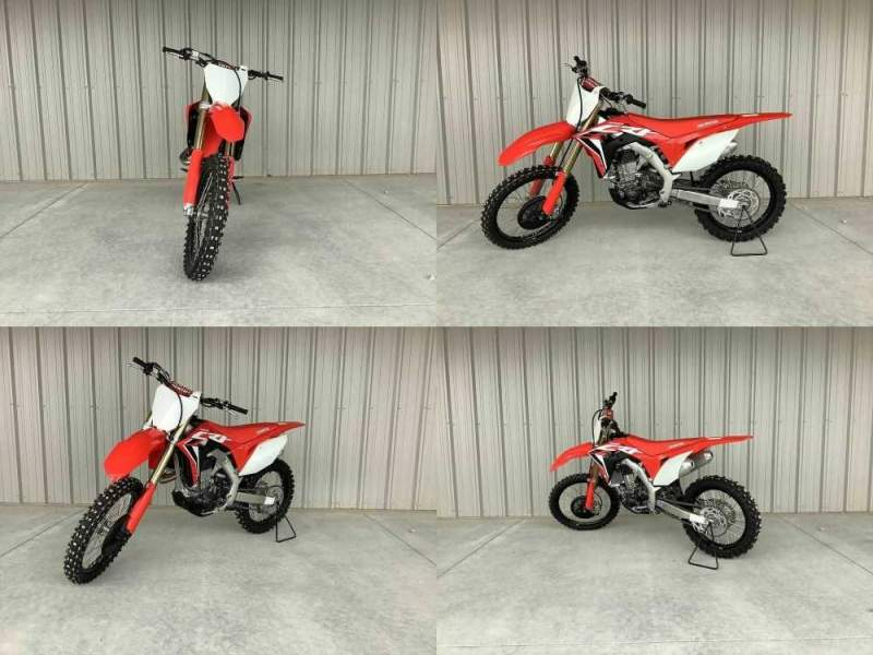 2020 Honda CRF Red used for sale