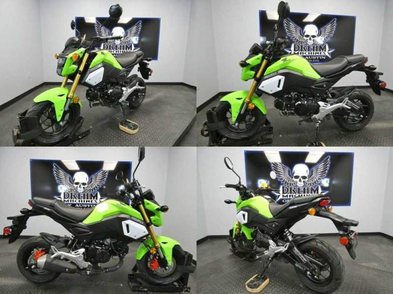 2020 Honda Grom 125 Green used for sale near me