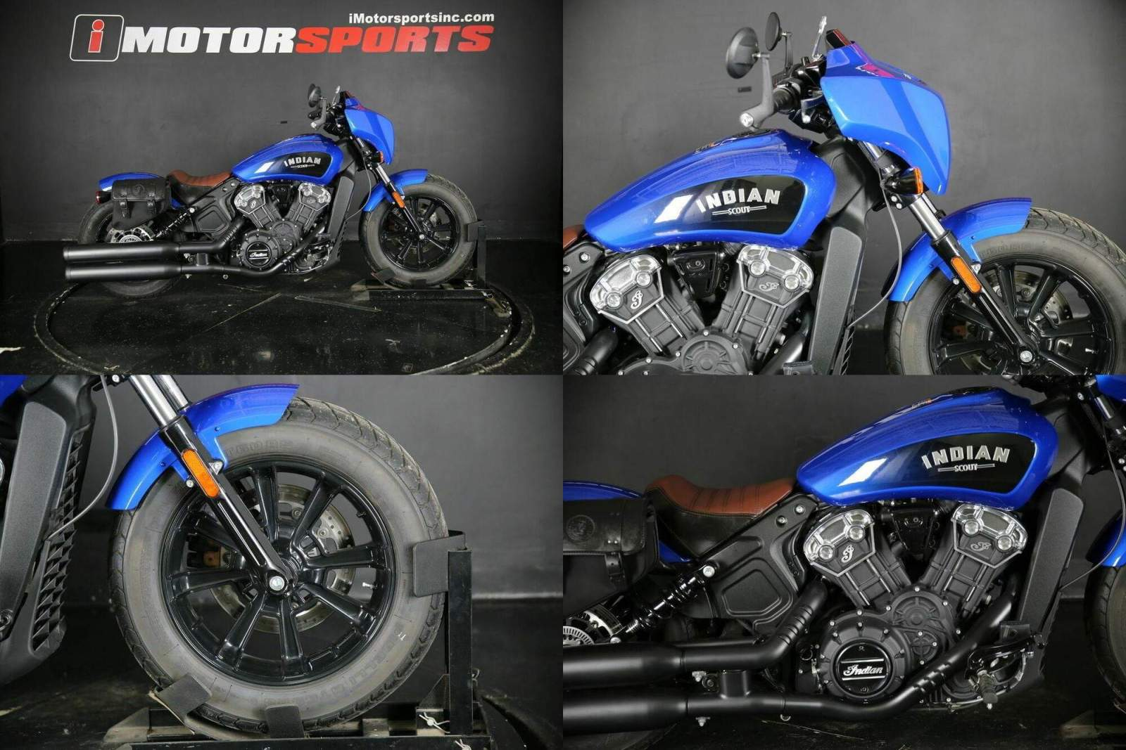2020 Indian Scout Bobber ABS Icon Series Radar Blue Blue used for sale craigslist