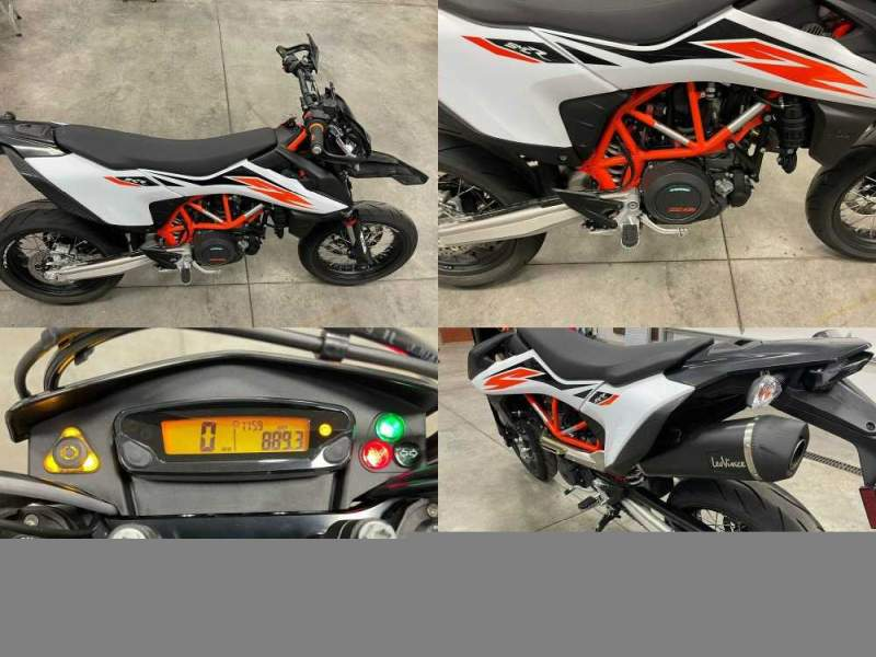 2020 KTM 690 SMC R White used for sale