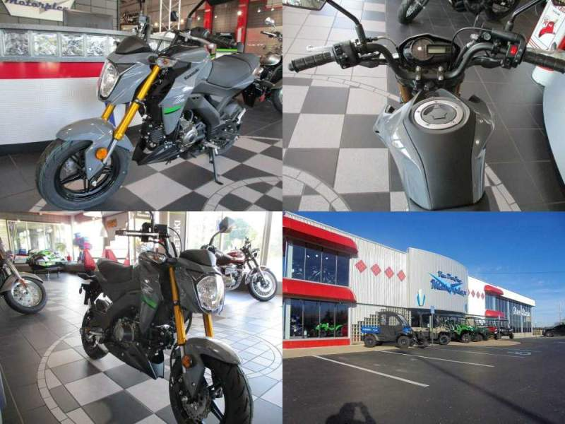 2020 Kawasaki Z125 Pro Gray used for sale craigslist