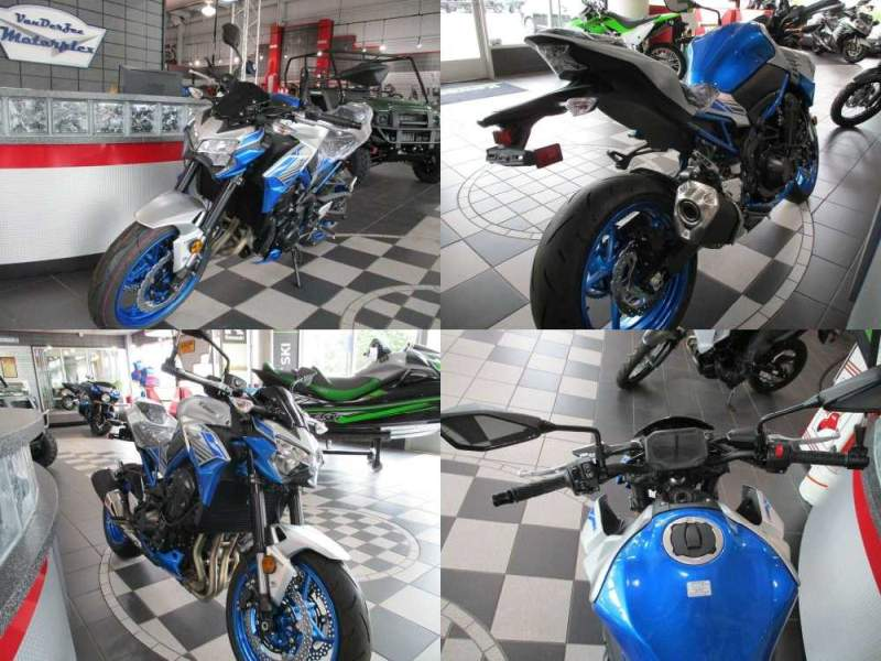 2020 Kawasaki Z900 ABS NAKED Blue used for sale craigslist