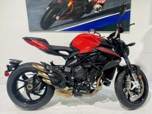 2020 MV Agusta Brutale 800 Rosso - Red used for sale