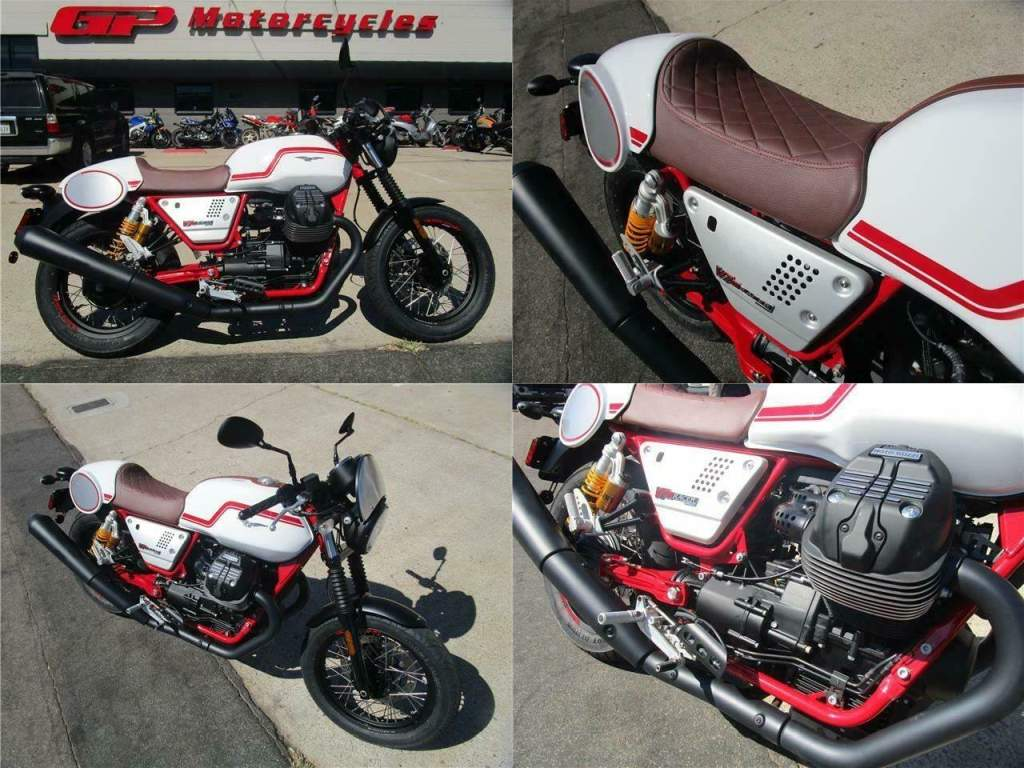 2020 Moto Guzzi V7 III RACER V7 III Racer White used for sale