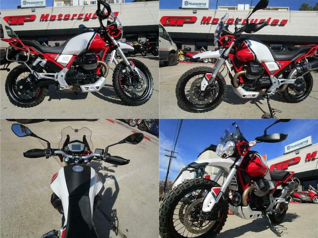 2020 Moto Guzzi V85 TT Travel Red used for sale