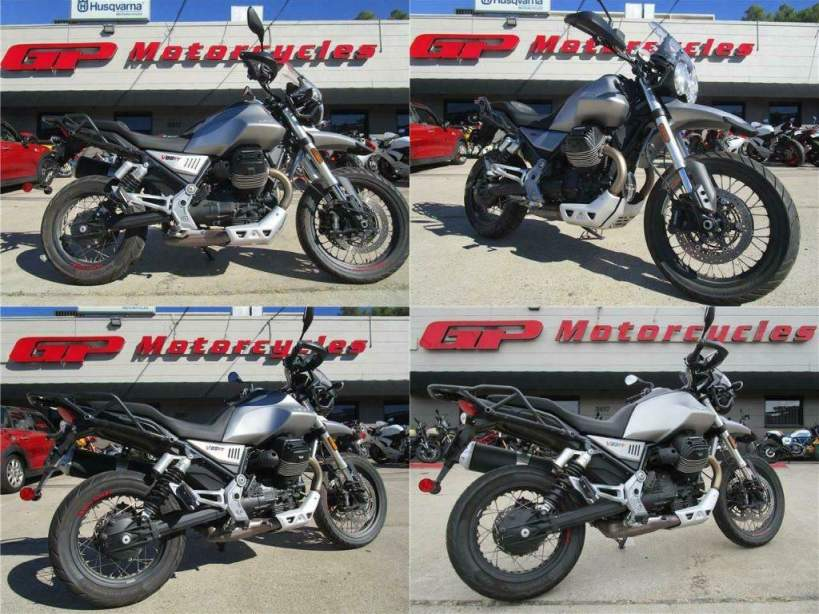 2020 Moto Guzzi V85 TT Gray used for sale