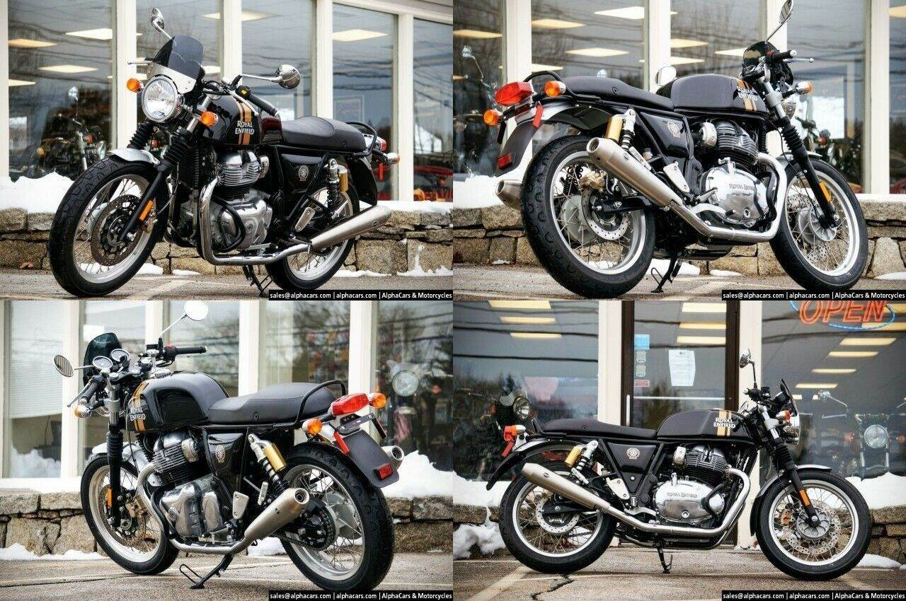 2020 Royal Enfield Continental GT 650 Black Magic Black used for sale near me