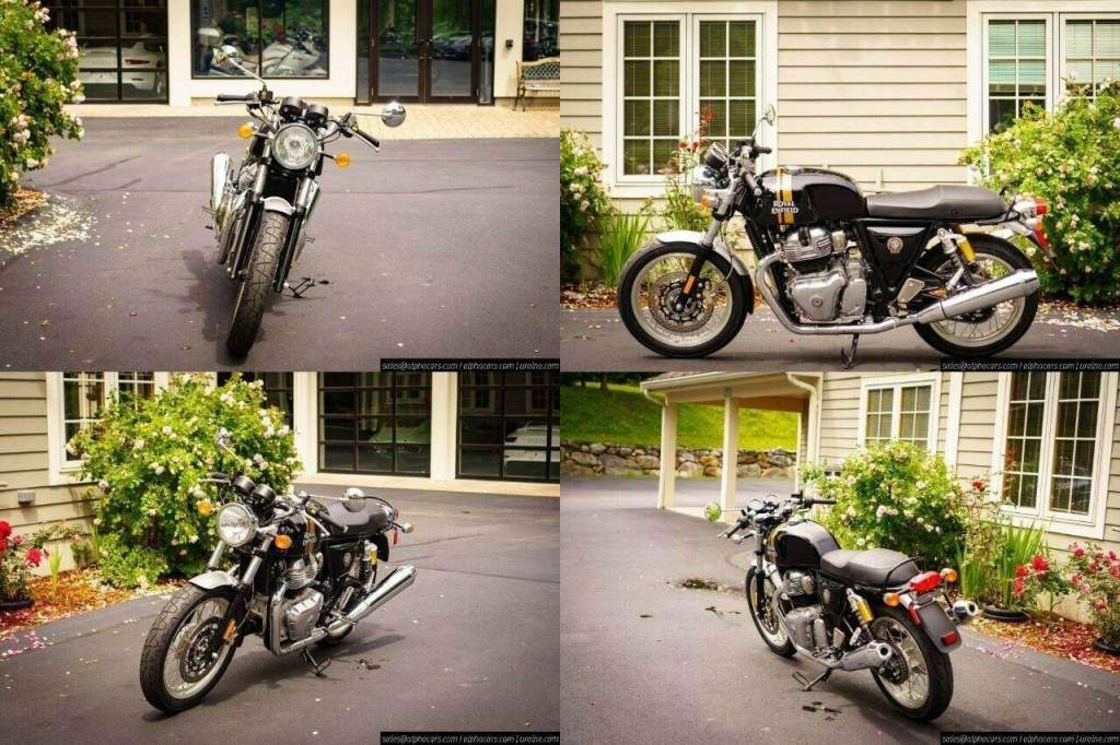 2020 Royal Enfield Continental GT 650 Black Magic Black used for sale