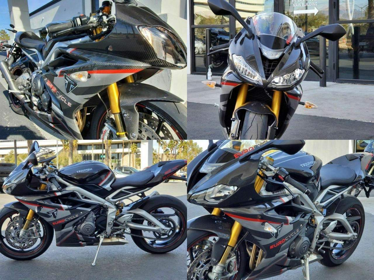 2020 Triumph Daytona Moto2™ 765 Limited Edition Black used for sale