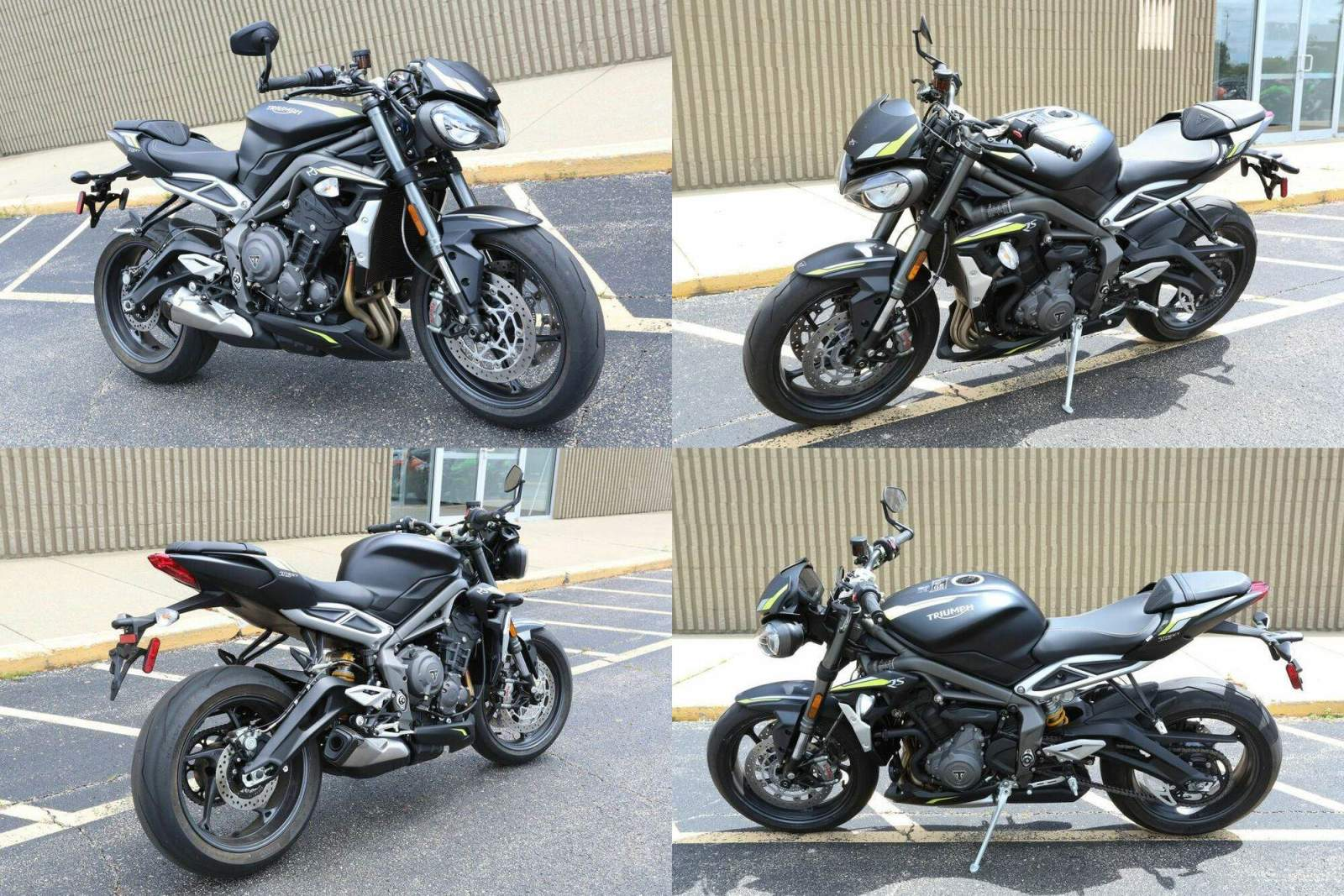 2020 Triumph Street Triple RS Silver Ice Black used for sale craigslist