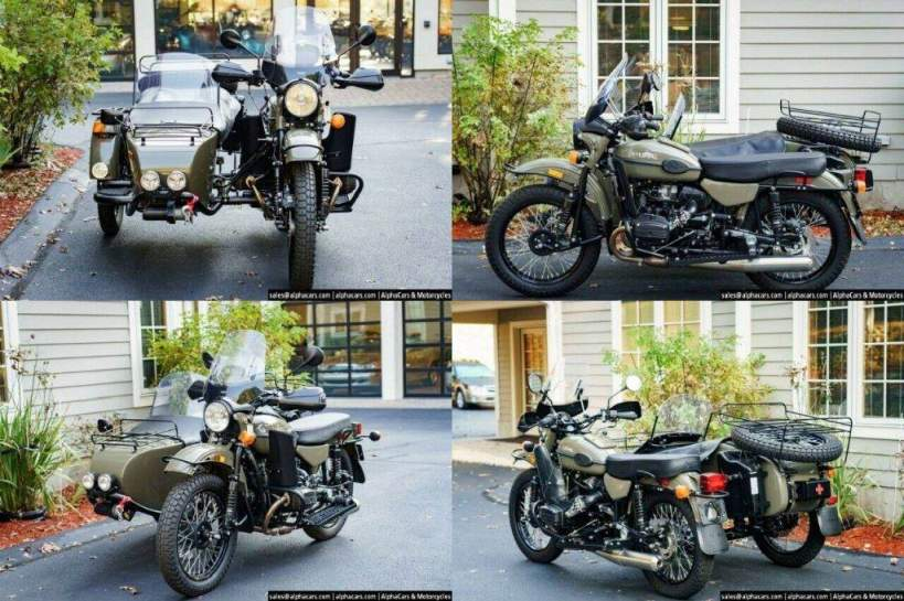 2020 Ural Gear Up Olive Gloss Custom Olive Gloss used for sale