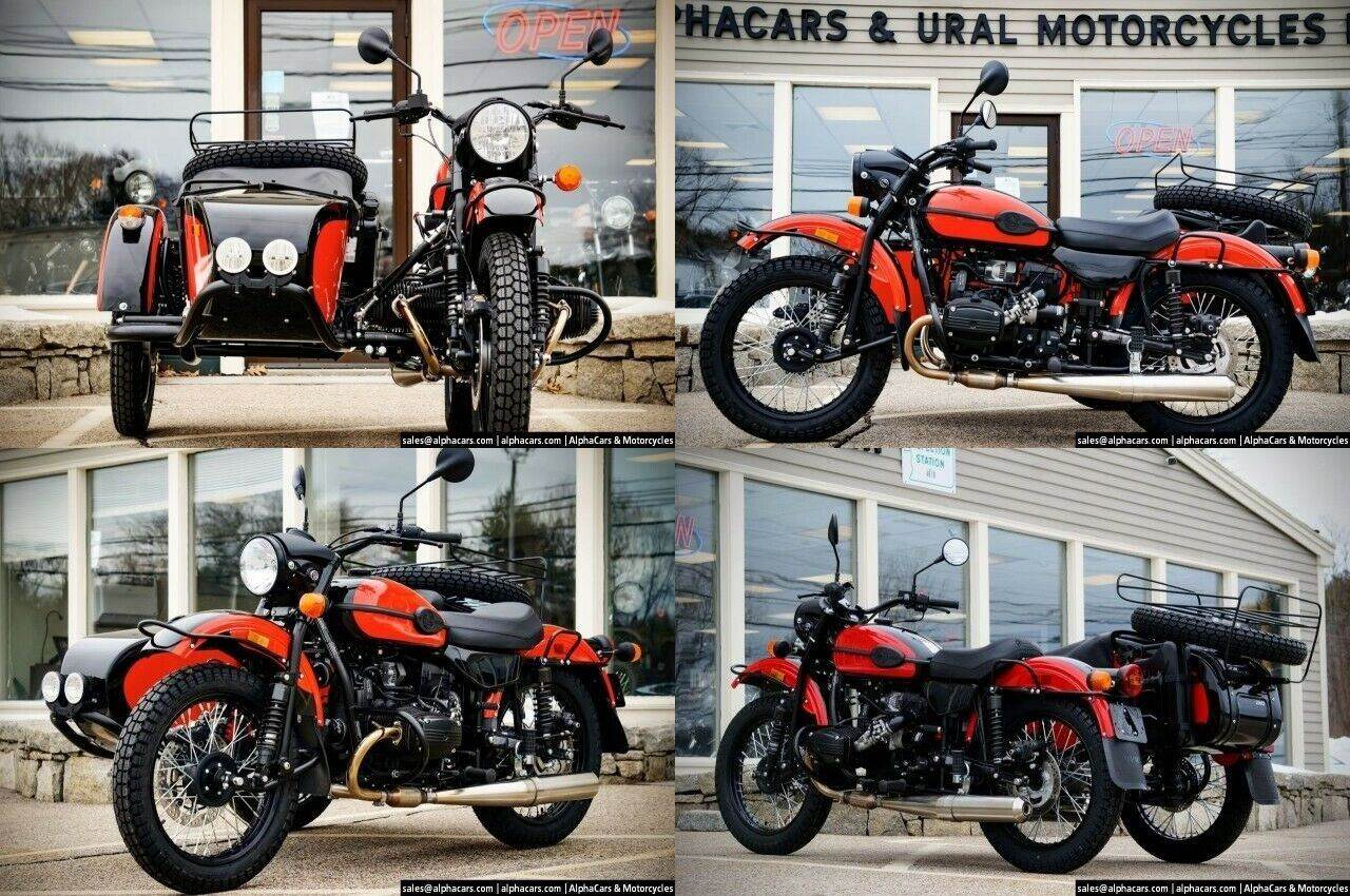 2020 Ural Gear Up Red & Black Black used for sale craigslist
