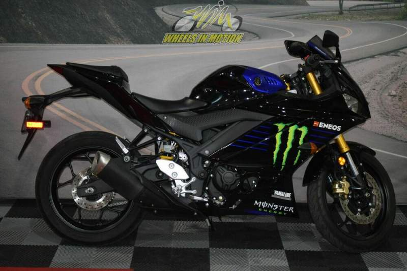 2020 Yamaha YZF-R3 Monster Energy Yamaha MotoGP Edition Black used for sale near me