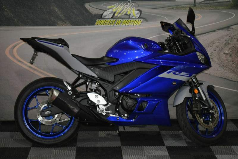 2020 Yamaha YZF-R3 Blue used for sale