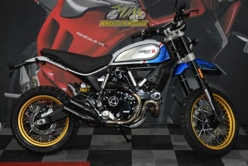 2021 Ducati Scrambler Desert Sled Sparking Blue Blue new for sale