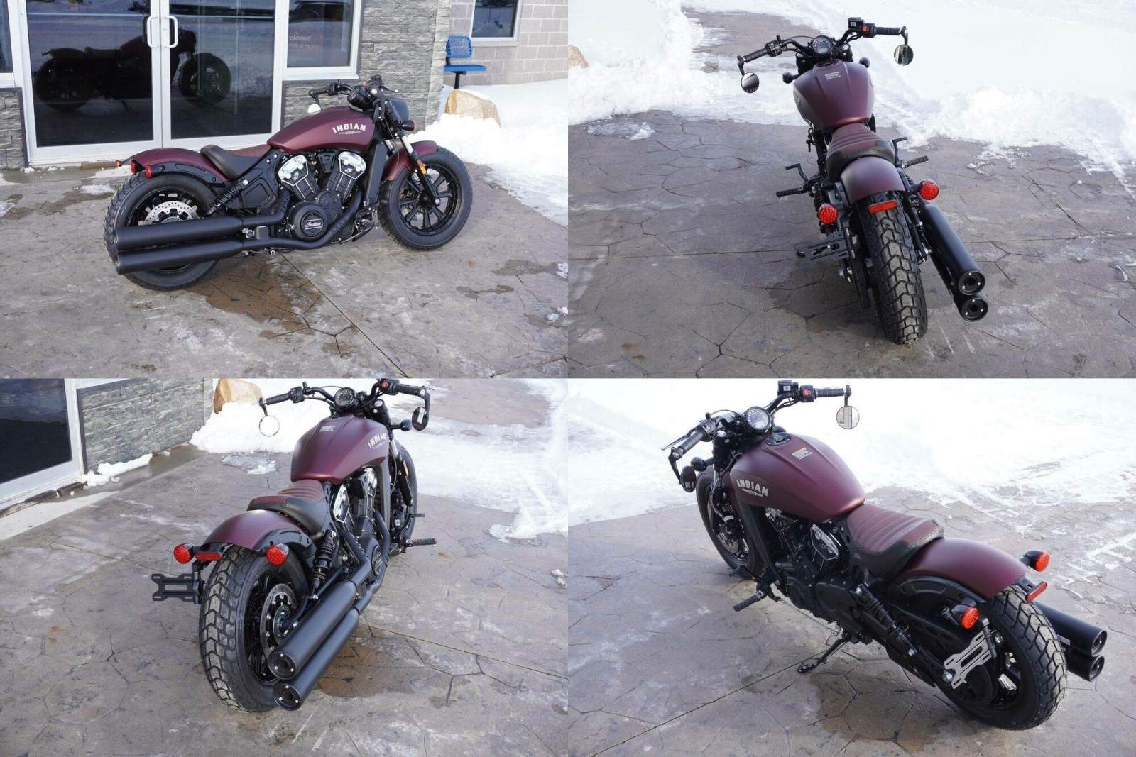2021 Indian Scout® Bobber ABS Maroon Metallic Smoke new for sale