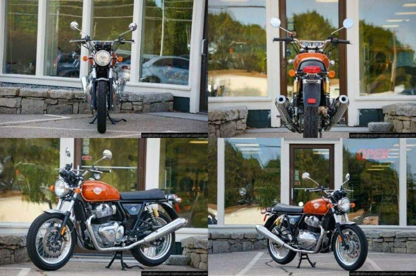 2021 Royal Enfield Interceptor INT650 Orange Crush Orange new for sale