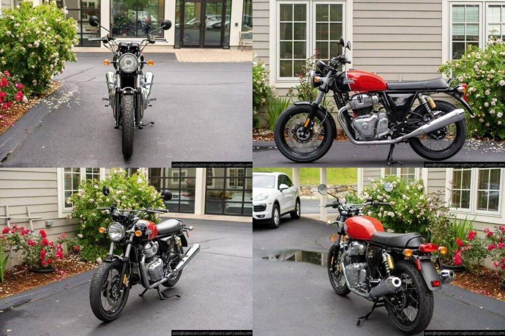 2021 Royal Enfield Interceptor INT650 Ravishing Red Red new for sale near me