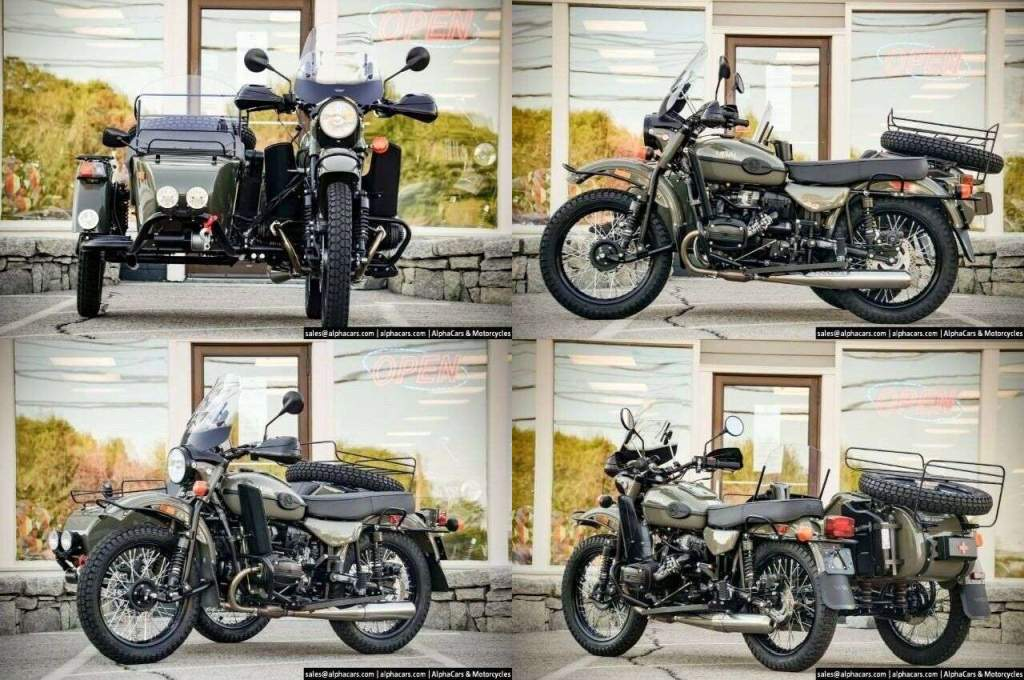 2021 Ural Gear Up Olive Gloss Custom Olive Gloss new for sale