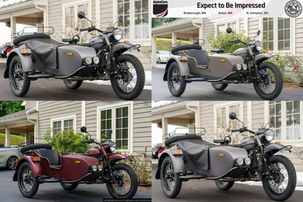 2021 Ural Gear Up Green new for sale