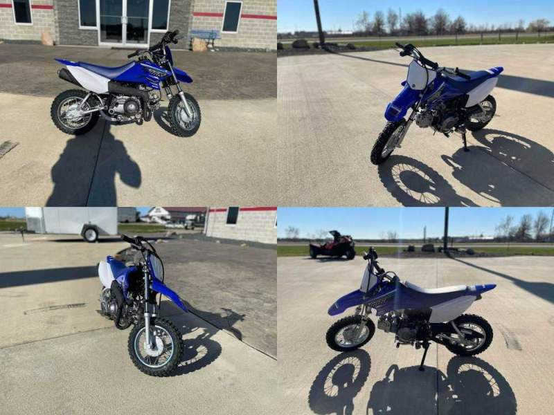 2021 Yamaha TT-R50E Blue new for sale