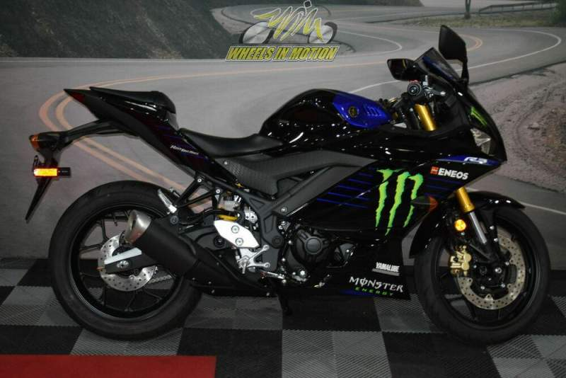 2021 Yamaha YZF-R3 Monster Energy Yamaha MotoGP Edition Black new for sale