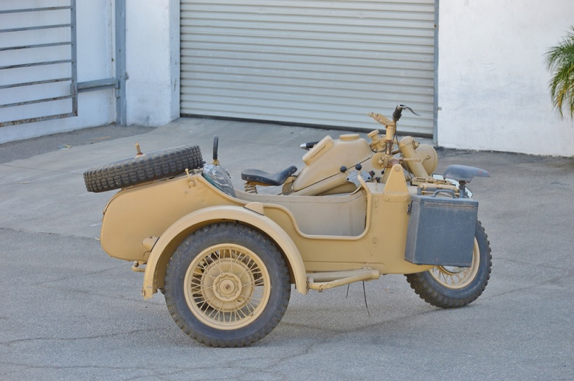 For Sale 1942 Zundapp KS750 Project