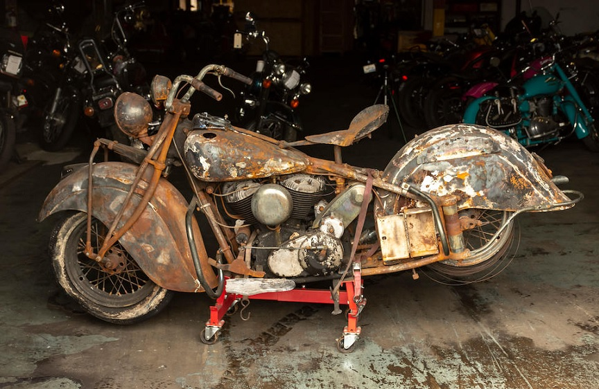 1940 Indian Chief project bike is up for sale